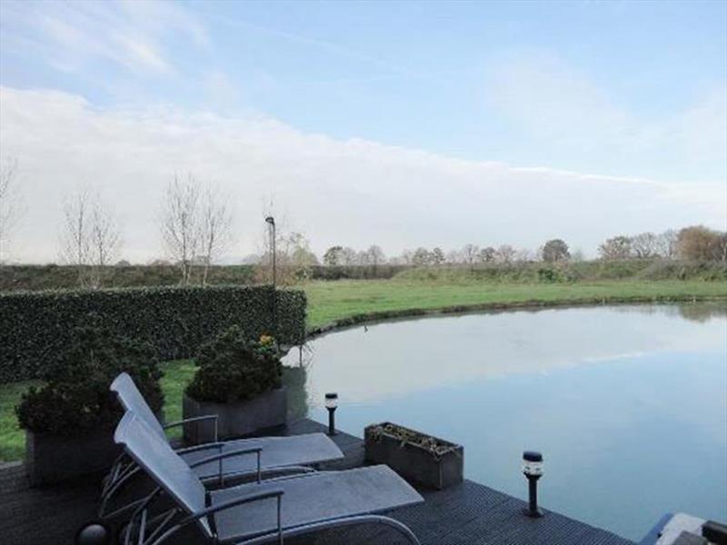Vakantiehuis te koop Brabant Molenschot R.Kerkweg 7 K44  Park De Brabantse Weelde  Terras 2 met uitzicht