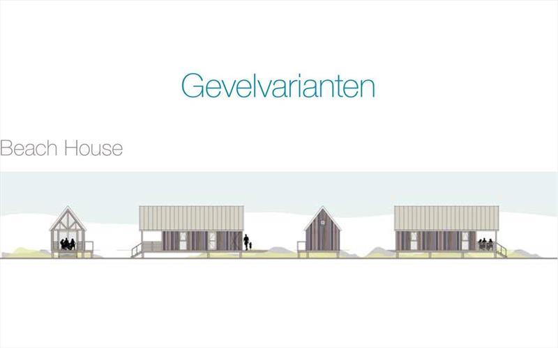 Vakantiehuis te koop in Nieuwvlied- Bad Zeeland gevels