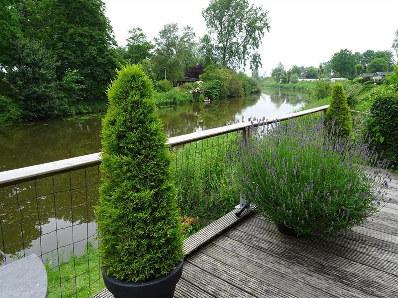Vakantiehuis te koop Noord Holland Droompark Molengroet Uitzicht vanaf het terras