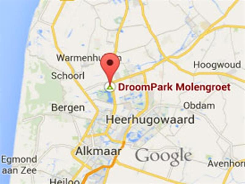 Vakantiehuis te koop Noord-Holland Noord-Scharwoude Molengroet 1 D754 Recreatiepark Molengroet  Tuin