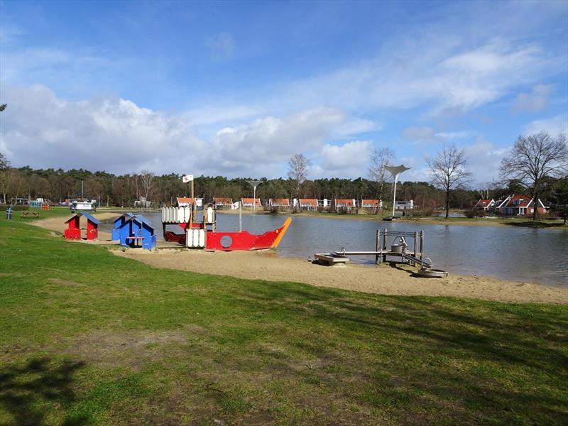 Vakantiehuis te koop Gelderland Otterlo Vijverlaan 1 K5 Droompark De Zanding Plattegrond van het park