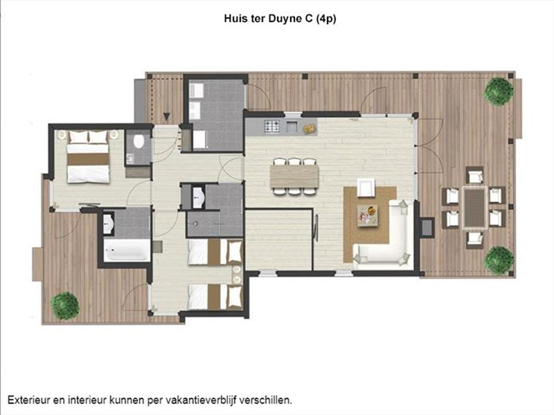 Vakantiehuis te koop Z.Holland Ouddorp Oude Nieuwlandseweg 11 Helmduyn 6 Roompot Strandpark Duynhille