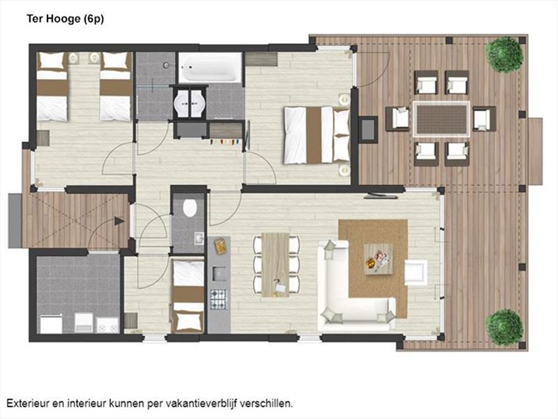 Vakantiehuis te koop Zuid Holland Ouddorp Oosterduin 9 Roompot Strandpark Duynhille