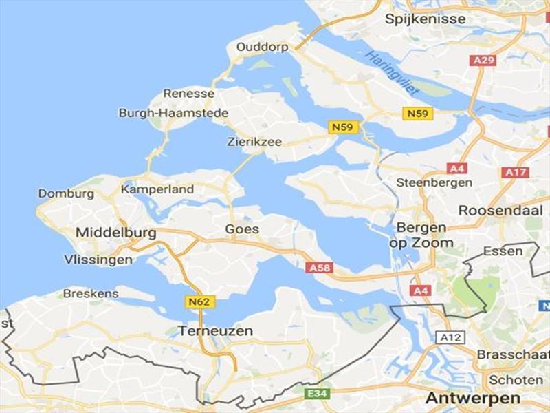 Vakantiehuis te koop Z.Holland Ouddorp Vloedburgh 6 Roompot Strandpark Duynhille  Kaart
