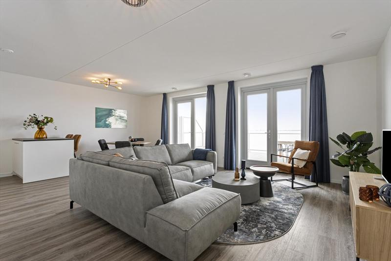 Vakantiehuis te koop aan het water plattegrond van appartement 2