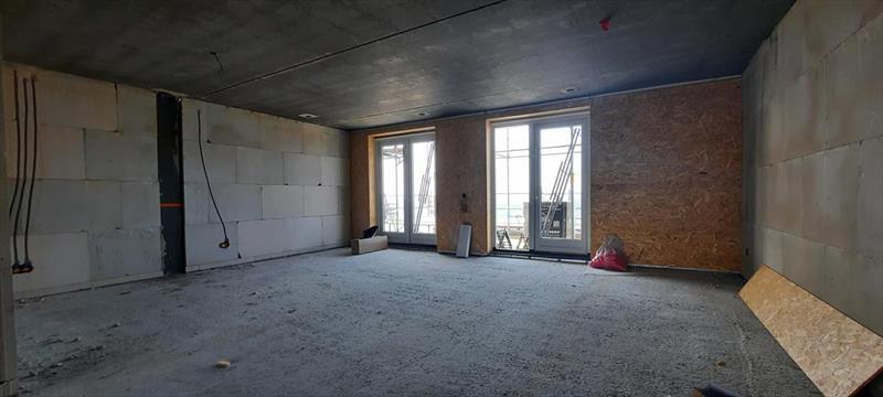 Vakantiehuis te koop aan het water plattegrond van de eerste verdieping