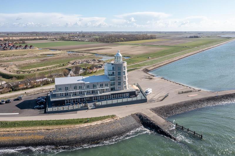 Vakantiehuis te koop aan het water plattegrond van de het appartement