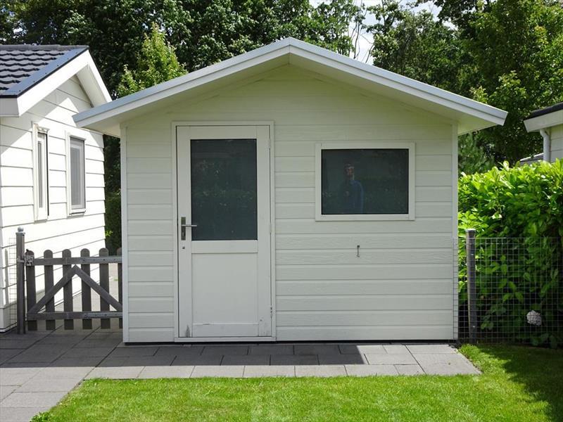 Vakantiehuis te koop N.Holland Velsen Zuid Buitenhuizerweg 2 K263 Droompark Buitenhuizen  Berging