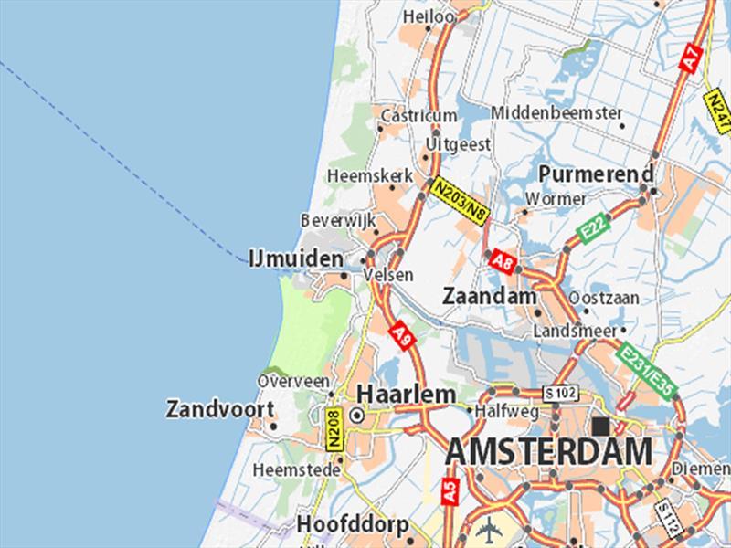 Vakantiehuis te koop N.Holland Velsen Zuid Buitenhuizerweg 2 K263 Droompark Buitenhuizen  Op het park