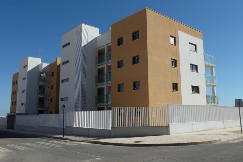 Appartement te koop Costa Blanca Spanje gevels.
