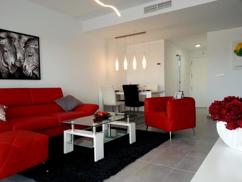 Appartement te koop Costa Blanca Spanje eethoek.