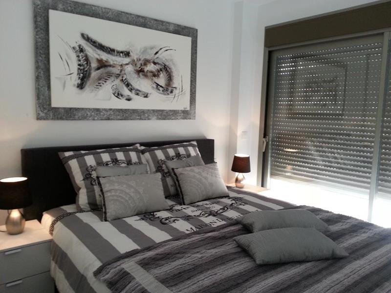 Appartement te koop Costa Blanca Spanje master bedroom.
