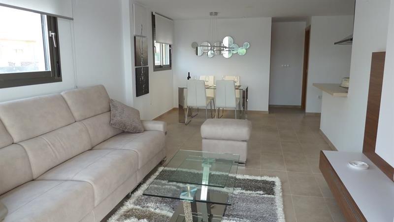Appartement te koop Costa Blanca Villamartin woonkamer.
