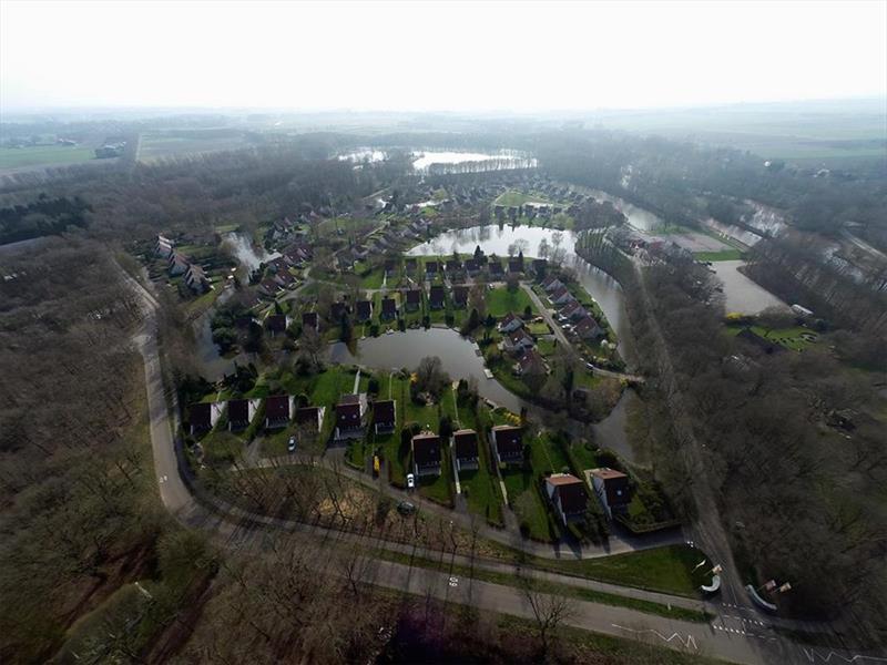Vakantiehuis te koop Groningen Wedde Paviljoenweg 2 Luchtfoto