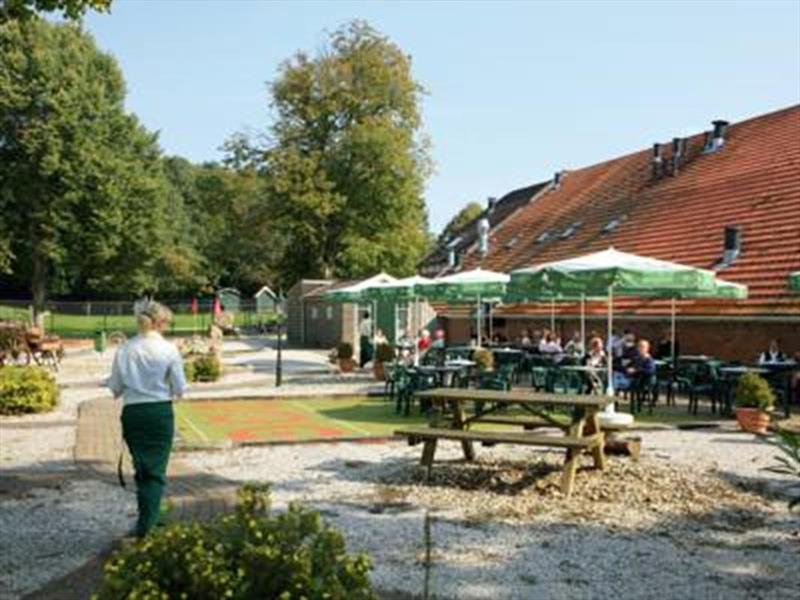 Vakantiehuis te koop Groningen Wedde Paviljoenweg 2 Plattegrond van het park