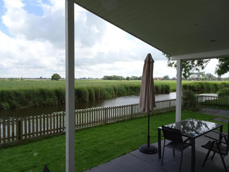 Vakantiehuis te koop N.Holland Oost-Graftdijk Groenedijk 6K360  Eurparcs Resort De Rijp   Tuin