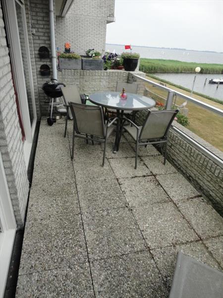 Vakantiehuis te koop N.Holland Verbindingsweg 115 Westerland Balkon