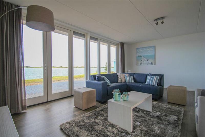Vakantiehuis te koop N.Holland Wieringerwerf park den Oever Woonkamer