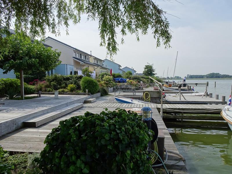 Vakantiehuis te koop N.Holland Wieringerwerf park den Oever Aanlegsteiger
