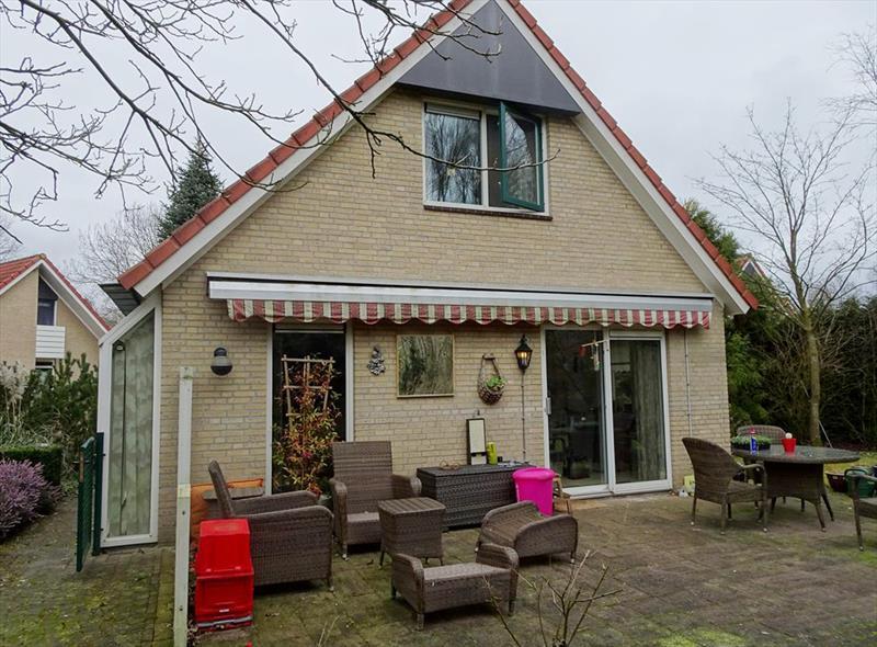 Vakantiehuis te koop Gelderland Wijchen Wighenerhorst 103 Achterzijde/Terras