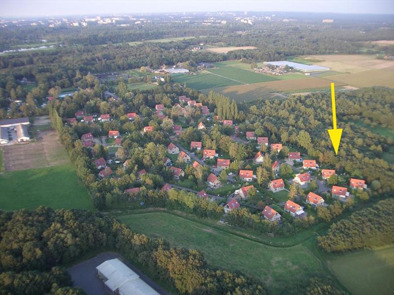 Vakantiehuis te koop Gelderland Wijchen Wighenerhorst 103 Luchtfoto van het park